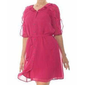 Maison Jules Women's Pink Dress